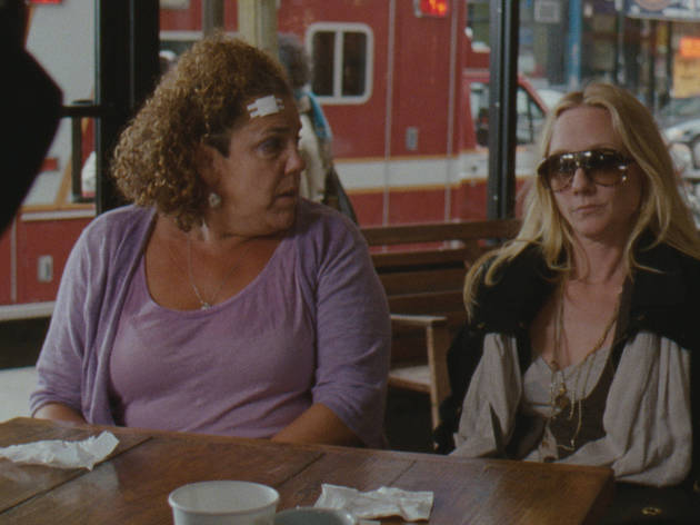 Marcia DeBonis, left, and Anne Heche in That's What She Said