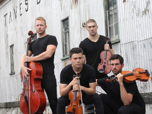 "Well-Strung performs Britney Spears' ""Toxic"" and the fourth movement from Dvorak's American Quartet"