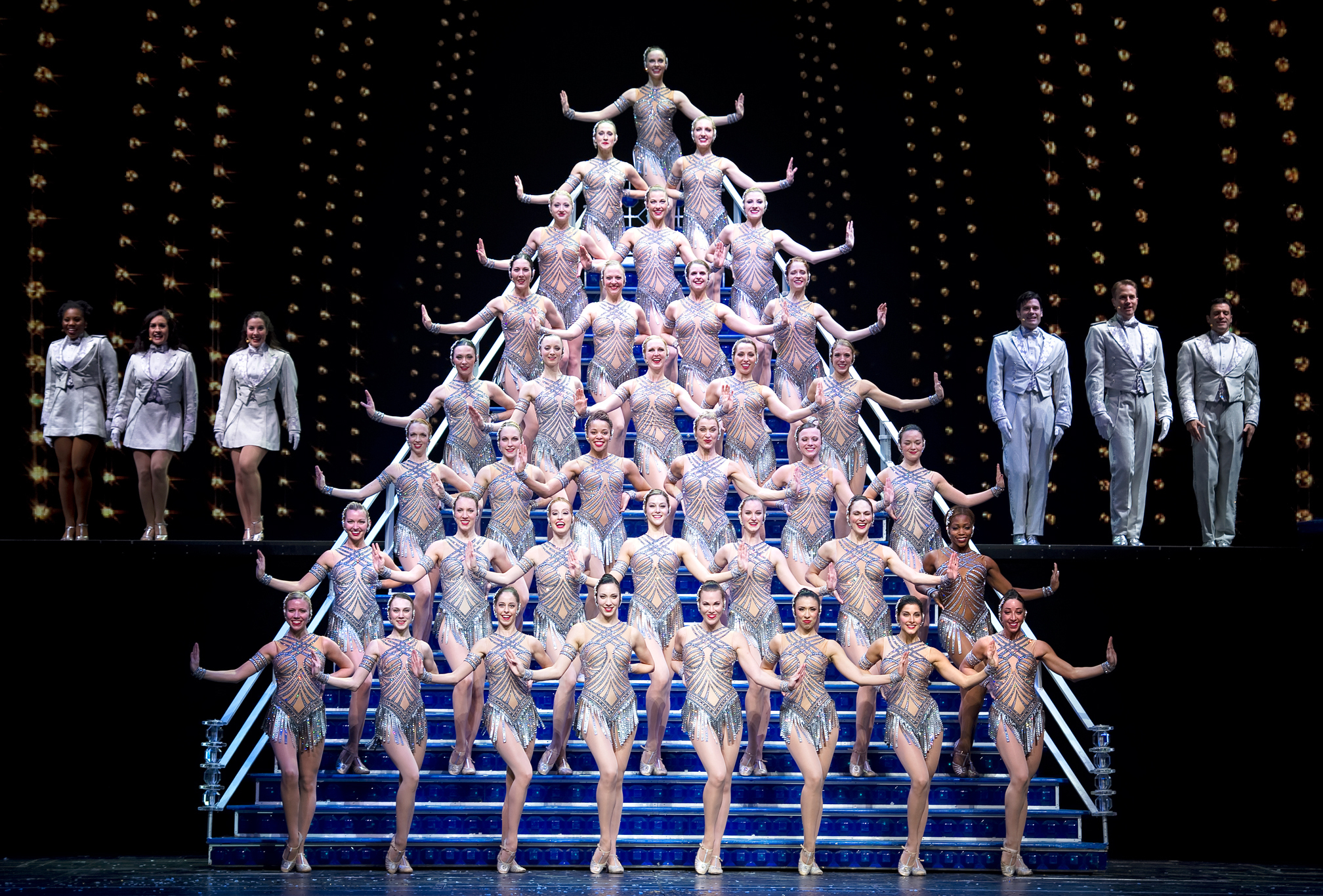 Visit the Rockettes at Radio City