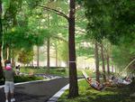Hammock Grove, Governors Island, rendering