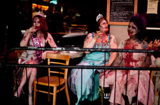 Zombie Fashion Show and Creature Art Exhibit