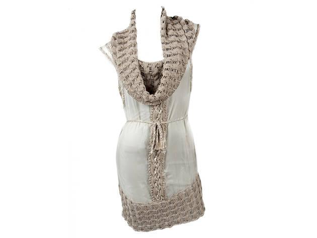 Pamela Gonzales cowl-neck dress, $775