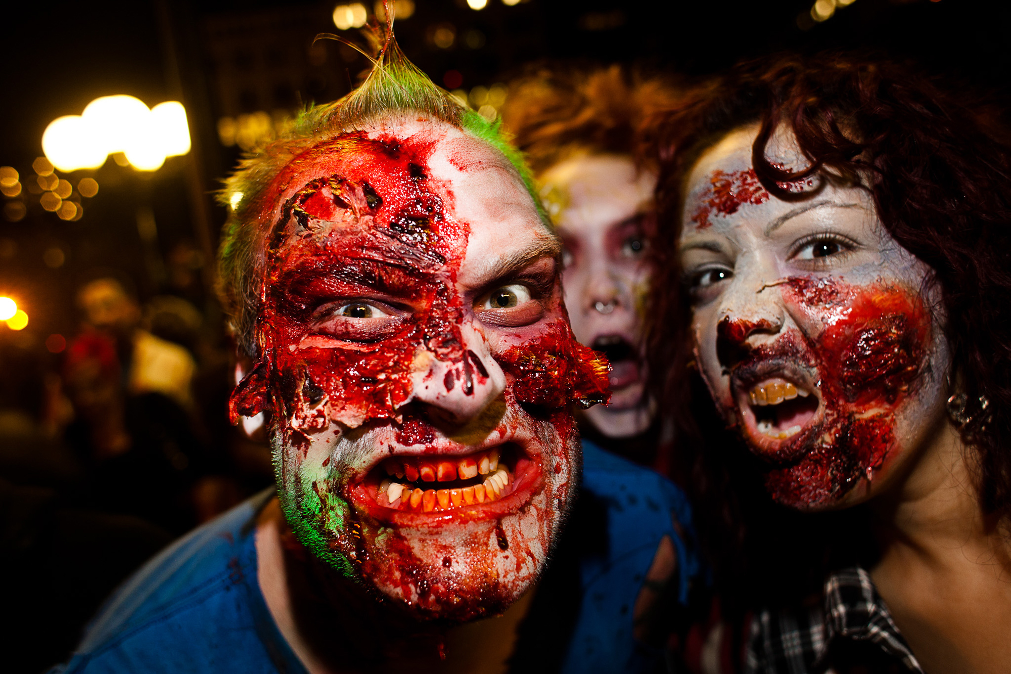 NYC Zombie Crawl lumbers around the East Village (slide show)