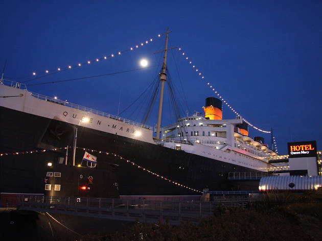 New Year's Eve aboard the Queen Mary