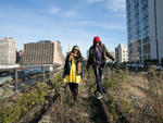 The High Line at the Rail Yards, October 2012