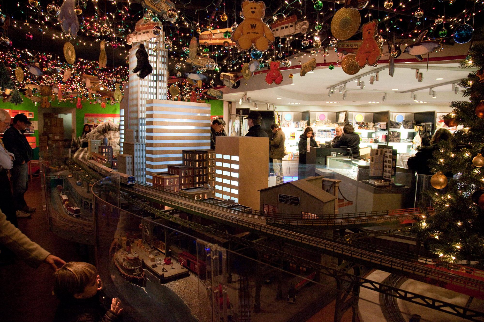 New York Transit Museum's Holiday Train Show | Things to do in New York
