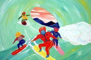 Tokyo: Take Ninagawa (Misaki Kawai, 'Surf Club', 2008 / Courtesy de l'artiste et Take Ninagawa)