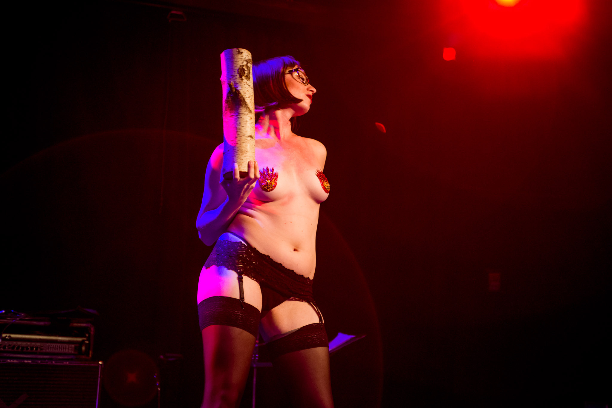 Photos: Pink Room Burlesque and Silencio salute David Lynch