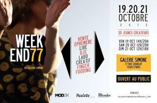 Week-end créatif à la Galerie Simone