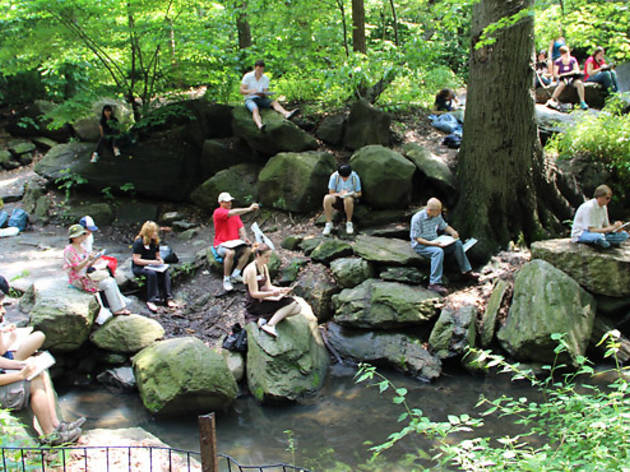 Central Park Sketching & Art Meetup Group