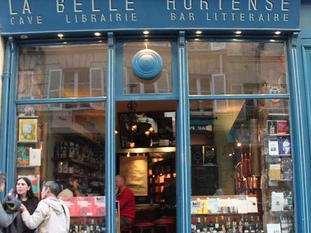Mix liquor and literature at La Belle Hortense