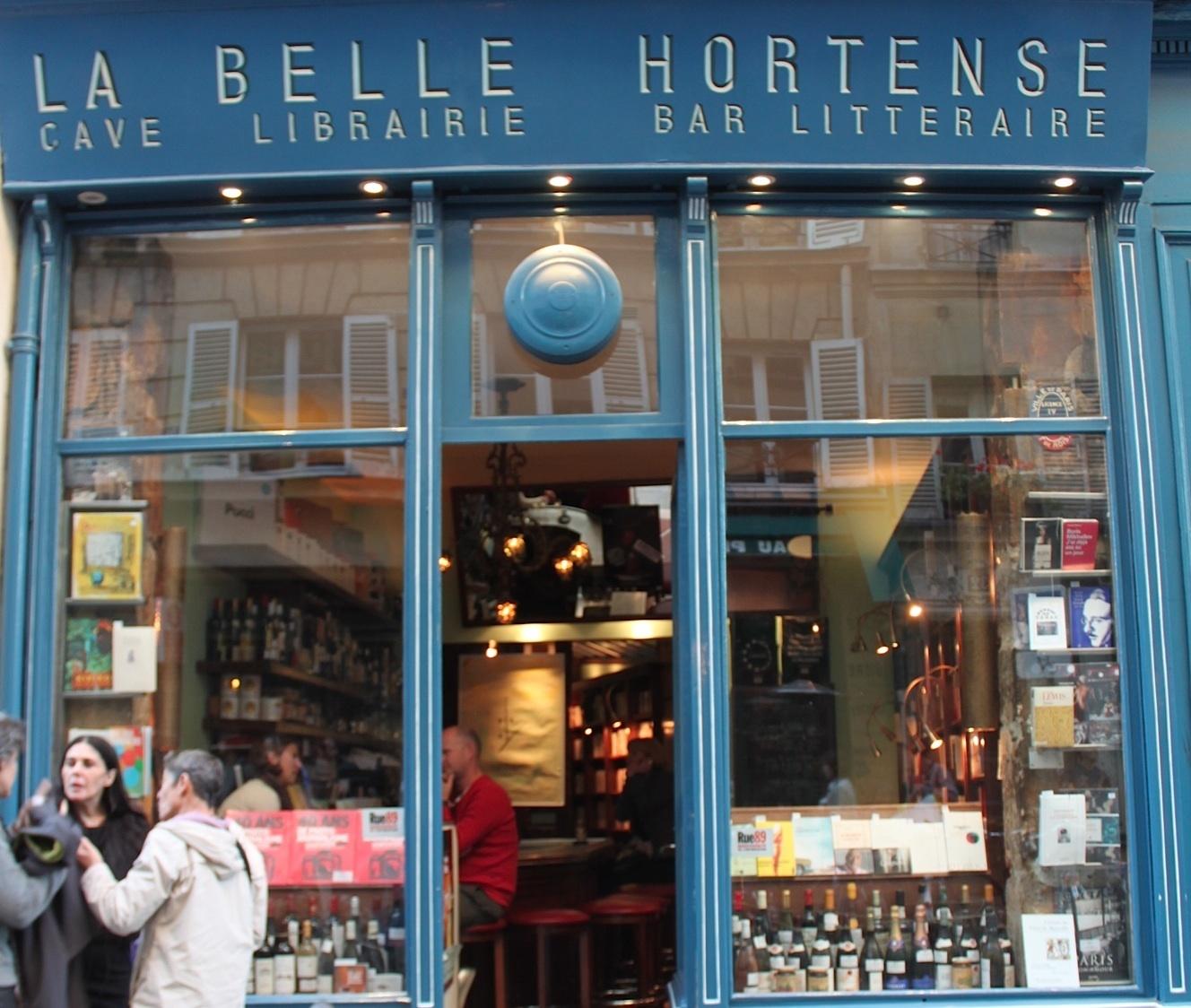 Cave à livres •La Belle Hortense
