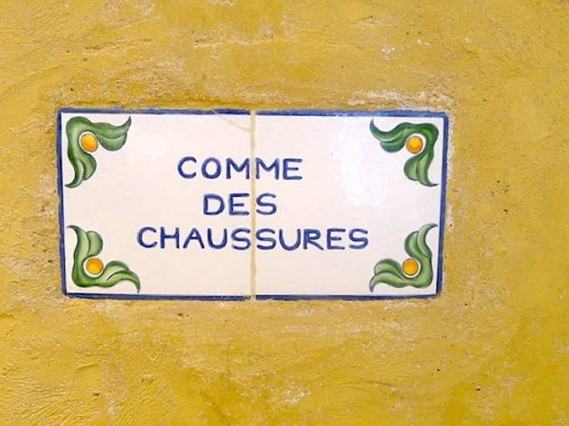 Comme des Chaussures (© Barbara Chossis)
