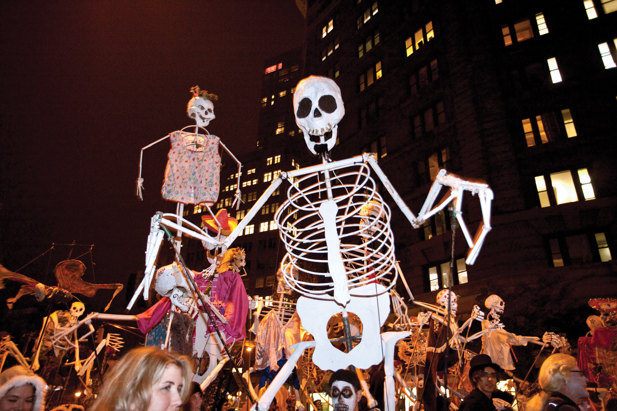 Make like a ghost and boo(k) it to the Village Halloween Parade