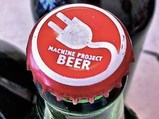 Build-a-Beer at Machine Project