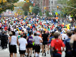 """New York City Marathon: people will do anything to get off Staten Island.""—@chrisgayner"