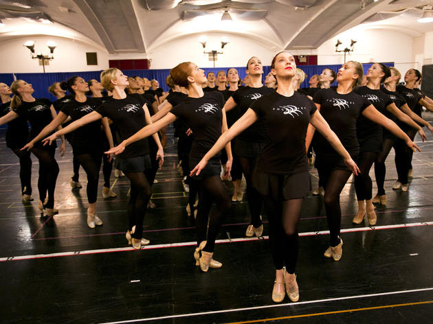 Photos: The Rockettes rehearsals