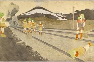 (Henry Darger, 'Untitled', c. 1960 / © The Museum of Everything)