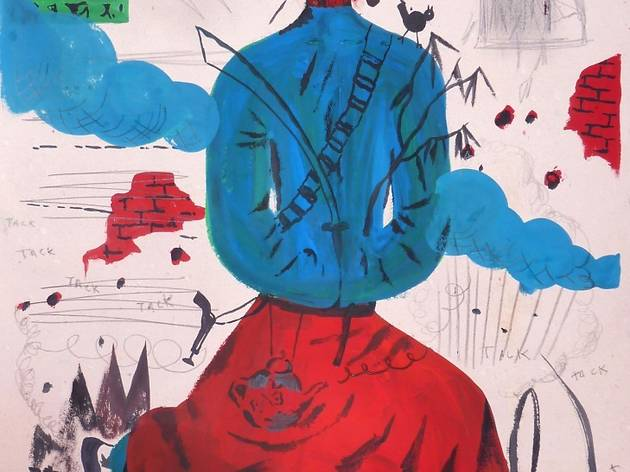 ('Blauer Lotus', 2012 / Courtesy Arts Factory)