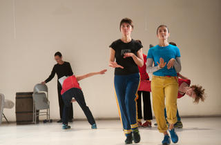 Yvonne Rainer and Group