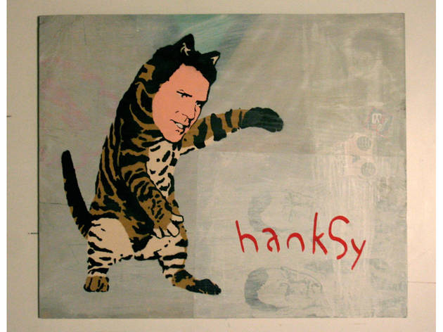 Interview: Hanksy still loves Tom Hanks, but only sort of likes Banksy (2012)