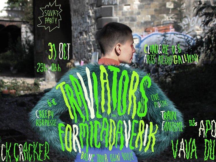 Squat party : Formicadaverik