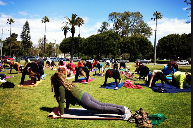 Free Yoga Or By Donation Classes Throughout Los Angeles