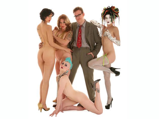 Sapphire Jones, GiGi La Femme, Bastard Keith, Kobayashi Maru and Madame Rosebud