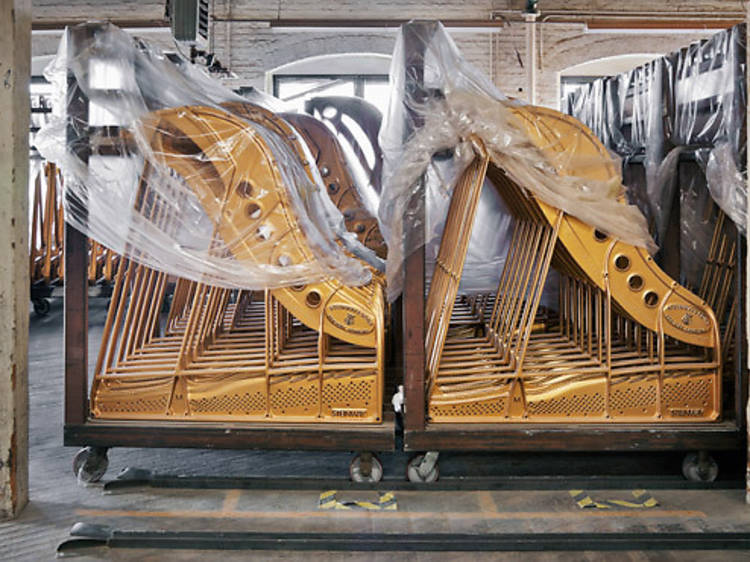 Steinway & Sons Piano Factory