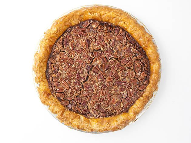 Pecan pie at Brite Spot