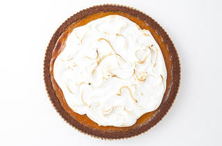 Pumpkin pie at Cake Monkey