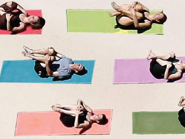 Shoptiques Yoga on the Beach