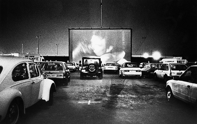 Sit back, relax and watch a drive-in movie