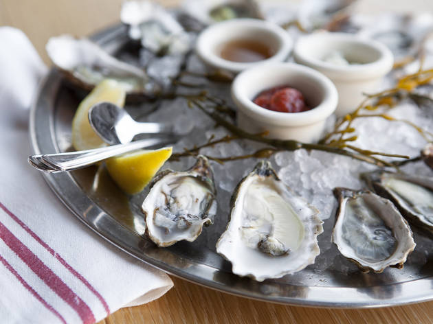<p>Oysters at MessHall</p>