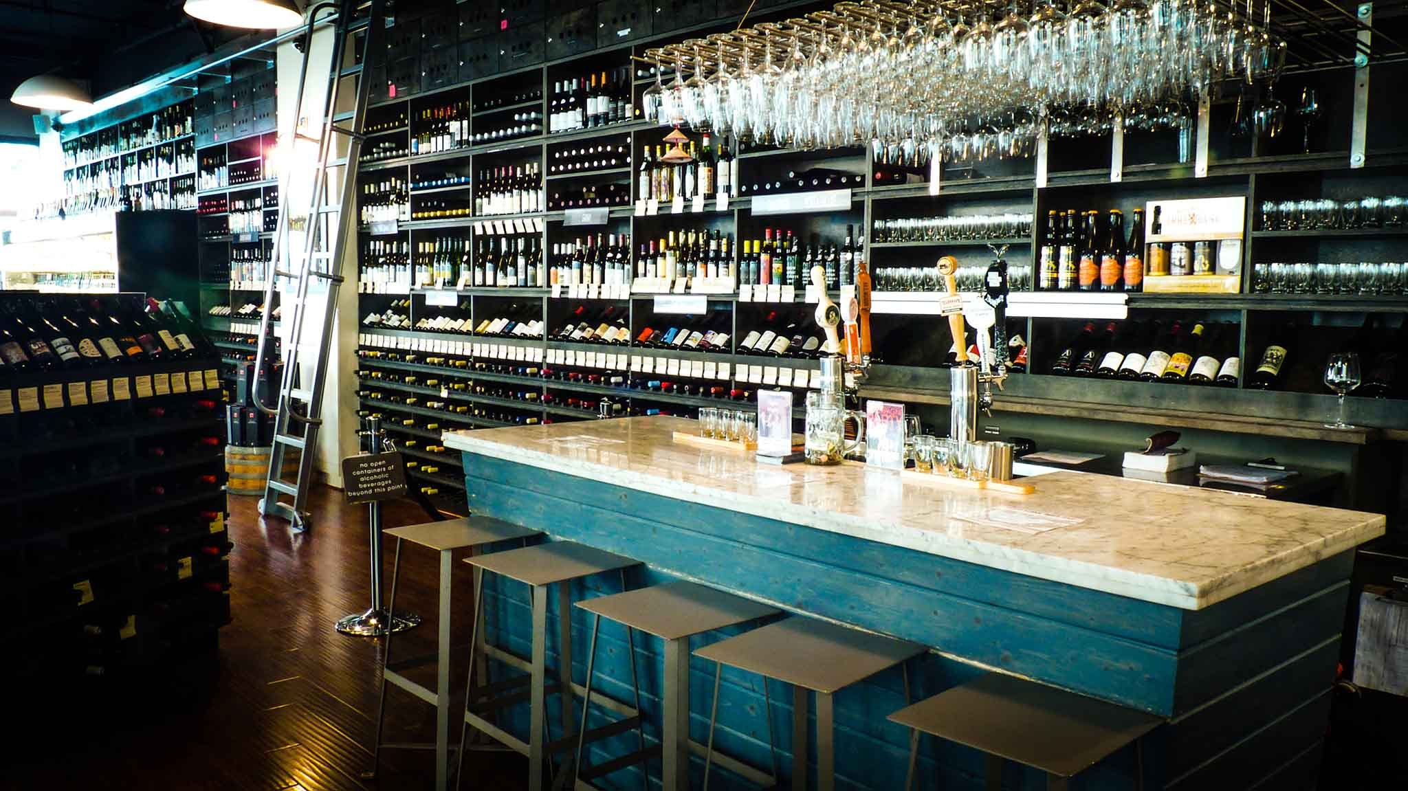Go wine tasting without leaving the city