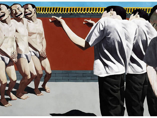 ('The Execution', 1995 / © Yue Minjun)