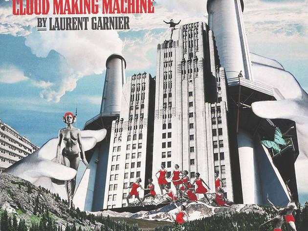 (Hot Spot (illustration Hélène Builly) pour Laurent Garnier, 'The Cloud Making Machine', 2004 / Communications / Vinyle / © DR)
