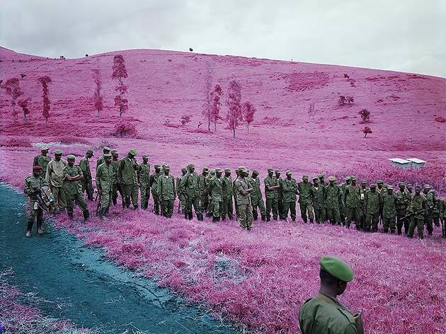 ('Colonel Soleil's Boys', 2010 / © Richard Mosse)
