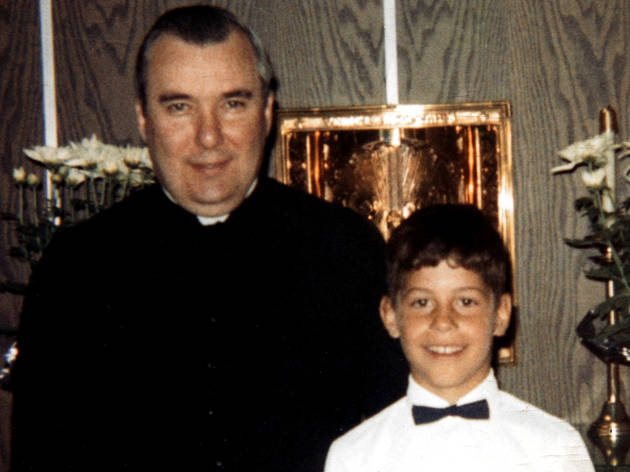 Father Lawrence Murphy and one of his wards in Mea Maxima Culpa: Silence in the House of God