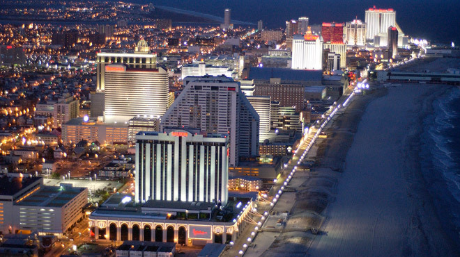 Guide to Atlantic City NJ including casinos hotels and