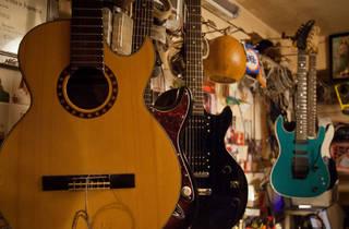 Vintage Guitar (Foto Alejandra Carbajal)