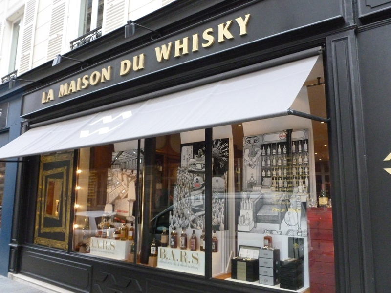 la maison du whisky shopping in madeleine paris. Black Bedroom Furniture Sets. Home Design Ideas