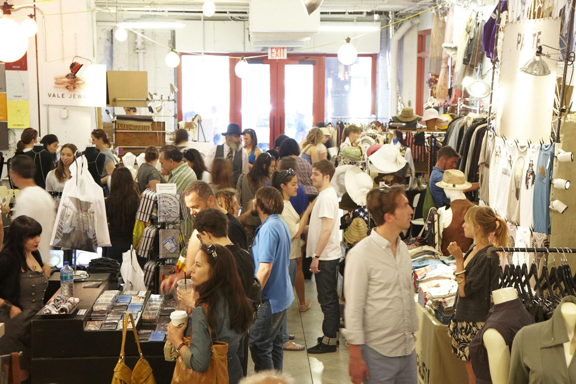 Artists Fleas At Chelsea Market