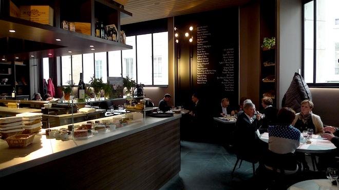 At the bar •Le Terroir Parisien