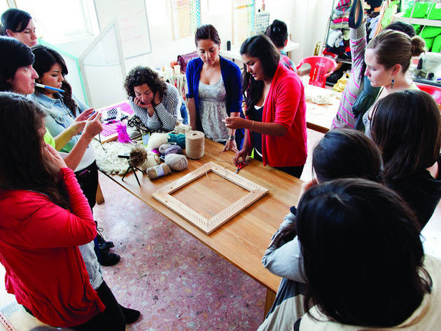 En Atea se ofrecen talleres (Foto: Alejandra Carbajal)