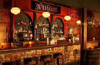 Bar at the Virgil.