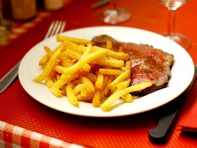 Les restaurants du Marais