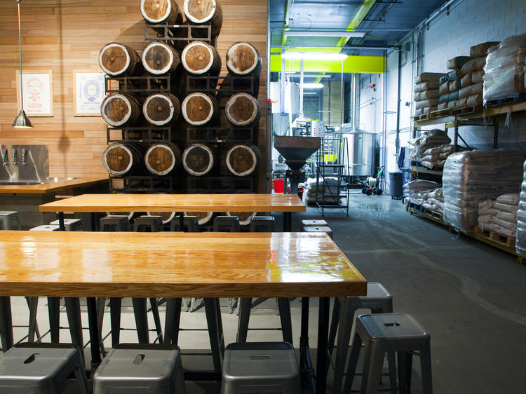 Tour a new Queens brewery