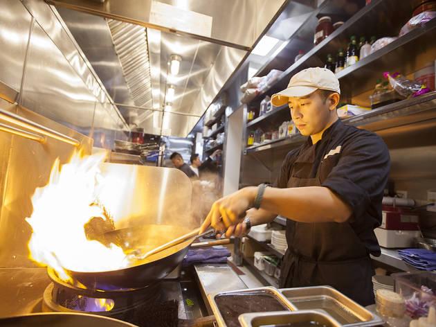 Scallion Pancake At ROC Kitchen. (Photograph: Jakob N. Layman)