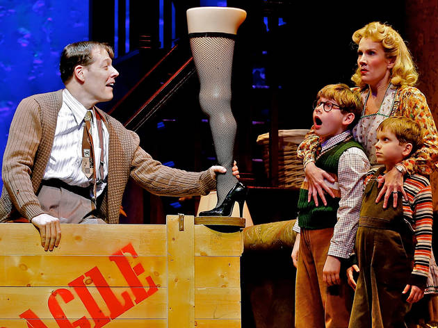 a christmas story the musical - Broadway Christmas Shows